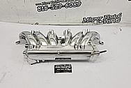 Toyota Aluminum 6 Cylinder Intake Manifold Project AFTER Chrome-Like Metal Polishing and Buffing Services / Restoration Services - Aluminum Polishing