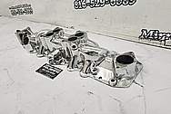 Aluminum Intake Manifold AFTER Chrome-Like Metal Polishing and Buffing Services - Aluminum Polishing Service - Intake Polishing