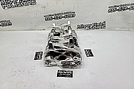 Aluminum V8 Intake Manifold AFTER Chrome-Like Metal Polishing and Buffing Services - Aluminum Polishing Service - Intake Polishing