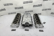 Dodge Viper Aluminum Rough Condition Intake Manifold and Cylinder Head Project AFTER Chrome-Like Metal Polishing and Buffing Services - Shifter Polishing Services