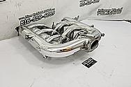 Aluminum V8 Intake Manifold AFTER Chrome-Like Metal Polishing and Buffing Services - Intake Polishing Services
