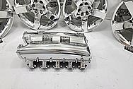 Dodge Viper Gen 4 Aluminum Intake Manifold AFTER Chrome-Like Metal Polishing and Buffing Services - Aluminum Polishing - Intake Polishing