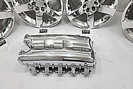 Dodge Viper Gen 4 Aluminum Intake Manifold AFTER Chrome-Like Metal Polishing and Buffing Services - Aluminum Polishing - Intake Polishing