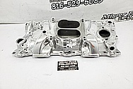 Mazda RX7 Aluminum 3 Rotor Intake Manifold AFTER Chrome-Like Metal Polishing and Buffing Services / Restoration Services - Intake Polishing