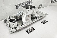 Aluminum V8 Intake Manifold AFTER Chrome-Like Metal Polishing and Buffing Services / Restoration Services - Intake Manifold Polishing