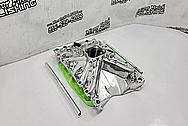 Edelbrock Torker Aluminum V8 Intake Manifold AFTER Chrome-Like Metal Polishing and Buffing Services / Restoration Services - Intake Manifold Polishing