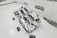 Nissan 300ZX Aluminum Intake Manifold AFTER Chrome-Like Metal Polishing and Buffing Services / Restoration Services - Aluminum Polishing - Intake Manifold Polishing