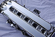 Dodge Viper GTS / RT10 8.3L Aluminum Intake Manifold AFTER Chrome-Like Metal Polishing and Buffing Services