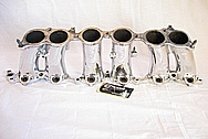 Toyota Supra 2JZ-GTE Lower Aluminum Intake Manifold AFTER Chrome-Like Metal Polishing and Buffing Services