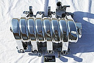 Dodge Hemi V8 Aluminum Intake Manifold AFTER Chrome-Like Metal Polishing and Buffing Services
