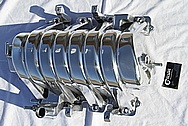 Dodge Hemi 6.1L V8 Aluminum Intake Manifold AFTER Chrome-Like Metal Polishing and Buffing Services