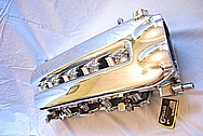 2003 8.3L V10 Dodge Viper Aluminum Intake Manifold AFTER Chrome-Like Metal Polishing, Buffing and Custom Clearcoating Services