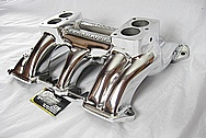 1949 - 1959 Cadillac Aluminum Intake Manifold AFTER Chrome-Like Metal Polishing, Buffing Services
