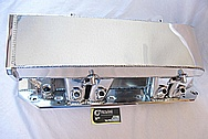 Chevy Camaro Aluminum Hogans Intake Manifold AFTER Chrome-Like Metal Polishing and Buffing Services