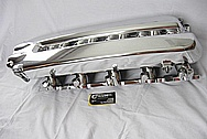2003, 2004, 2005, 2006 Dodge Viper Aluminum Intake Manifold AFTER Chrome-Like Metal Polishing and Buffing Services