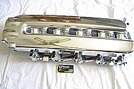 2003, 2004, 2005, 2006 Dodge Viper V10 Aluminum Intake Manifold AFTER Chrome-Like Metal Polishing and Buffing Services