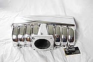Ford MustangEdelbrock V8 Aluminum Intake Manifold AFTER Chrome-Like Metal Polishing and Buffing Services