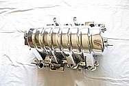 Dodge Hemi V8 6.1L Aluminum Intake Manifold AFTER Chrome-Like Metal Polishing and Buffing Services