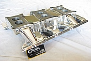 1966 Pontiac GTO Aluminum Intake Manifold AFTER Chrome-Like Metal Polishing and Buffing Services