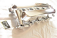 2003 Dodge Viper V10 8.3L Aluminum Intake Manifold AFTER Chrome-Like Metal Polishing and Buffing Services