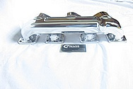1928 - 1931 Ford Model A Roof Cyclone Overhead Valve Aluminum Intake Manifold AFTER Chrome-Like Metal Polishing and Buffing Services
