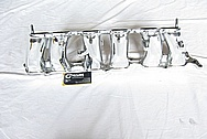 1993 - 1998 Toyota Supra 2JZ-GTE Aluminum Lower Intake Manifold AFTER Chrome-Like Metal Polishing and Buffing Services
