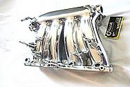 2007 Honda Civic SI Aluminum Intake Manifold AFTER Chrome-Like Metal Polishing and Buffing Services