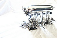 2007 Honda Civic SI Aluminum Intake Manifold AFTER Chrome-Like Metal Polishing and Buffing Services