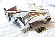 Ford Mustang Holley SysteMAX V8 Aluminum Intake Manifold AFTER Chrome-Like Metal Polishing and Buffing Services