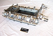 Ford Shelby GT500 Aluminum Intake Manifold AFTER Chrome-Like Metal Polishing and Buffing Services