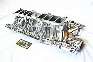 Ford Mustang 5.0L Aluminum Lower Intake Manifold AFTER Chrome-Like Metal Polishing and Buffing Services