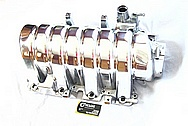 Hemi 6.1L Aluminum Intake Manifold AFTER Chrome-Like Metal Polishing and Buffing Services