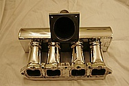 Toyota MR-2 Aluminum Intake Manifold AFTER Chrome-Like Metal Polishing and Buffing Services