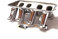 GM Holley EFI LS1 V8 Aluminum Intake Manifold AFTER Chrome-Like Metal Polishing and Buffing Services