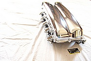 2010 Dodge Viper V10 Aluminum Intake Manifold AFTER Chrome-Like Metal Polishing and Buffing Services