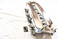 2006 Dodge Viper V10 Aluminum Intake Manifold AFTER Chrome-Like Metal Polishing and Buffing Services