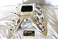 Ford Mustang Cobra V8 Sullivan Aluminum Intake Manifold Top AFTER Chrome-Like Metal Polishing and Buffing Services