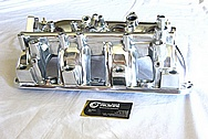 Mistubishi EVO X Aluminum Intake Manifold AFTER Chrome-Like Metal Polishing and Buffing Services