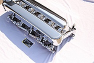 Dodge Viper V10 Aluminum Intake Manifold AFTER Chrome-Like Metal Polishing and Buffing Services