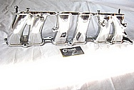 1993 - 1998 Toyota Supra 2JZ - GTE Aluminum Lower Intake Manifold AFTER Chrome-Like Metal Polishing and Buffing Services
