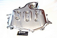 Nissan 350Z Aluminum Engine Intake Manifold AFTER Chrome-Like Metal Polishing and Buffing Services