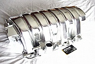 Dodge Hemi 6.1L Aluminum Intake Manifold AFTER Chrome-Like Metal Polishing and Buffing Services