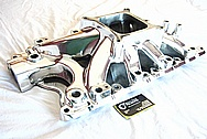 Edelbrock Super Victor EFI Ford 351 V8 Intake Manifold AFTER Chrome-Like Metal Polishing and Buffing Services