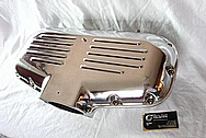 Ford Mustang Trick Flow Aluminum Intake Manifold AFTER Chrome-Like Metal Polishing and Buffing Services
