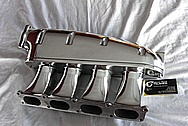 Volkswagen Transverse Integrated Engineering 1.8L Turbo Aluminum Intake Manifold AFTER Chrome-Like Metal Polishing and Buffing Services
