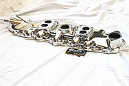 Eddie Meyer Hollywood Aluminum Intake Manifold AFTER Chrome-Like Metal Polishing and Buffing Services