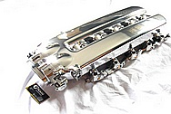 2003 - 2006 Dodge Viper V10 Aluminum Intake Manifold AFTER Chrome-Like Metal Polishing and Buffing Services