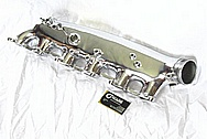 Nissan Skyline Aluminum Intake Manifold AFTER Chrome-Like Metal Polishing and Buffing Services / Restoration Services