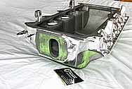 Ford Mustang Aluminum Intake Manifold AFTER Chrome-Like Metal Polishing and Buffing Services / Restoration Services