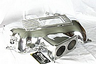 Ford Mustang Cobra Aluminum Intake Manifold AFTER Chrome-Like Metal Polishing and Buffing Services / Restoration Services